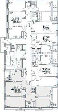Москва, 4-х комнатная квартира, ул. Радиальная 6-я д.7, 9884983 руб.