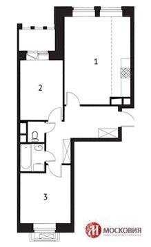 3-х комн.квартира 53.1 кв.м.