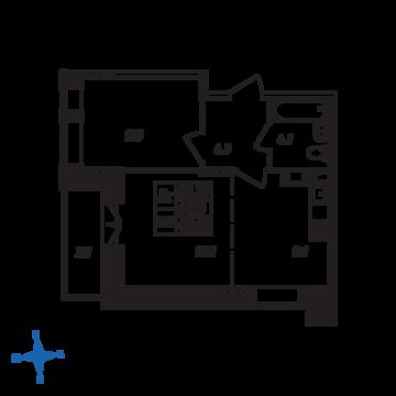 Люберцы, 2-х комнатная квартира, ул. Барыкина д., 3897894 руб.