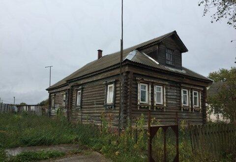Пол дома в д. Стреглово, Клинский р-н. 15 сот земли.