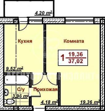 Предлагаем вам купить 1-но комн. квартиру 37 кв.м. Высокие потолки.