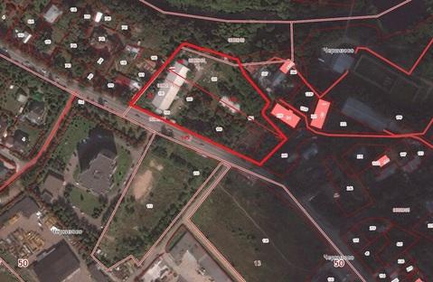 Продается земельный участок в п. Черкизово Пушкинский район