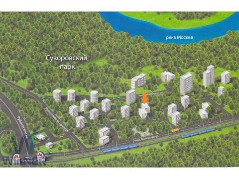 Отличная трехкомнатная квартира в «Царском Селе» в Фили-Давыдково!