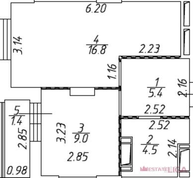 Котельники, 1-но комнатная квартира, Сосновая д.д.1, 5190000 руб.