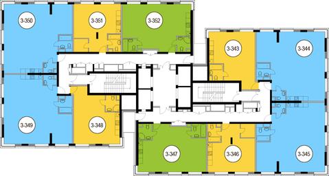 Москва, 3-х комнатная квартира, Головинское ш. д.10, 16962300 руб.