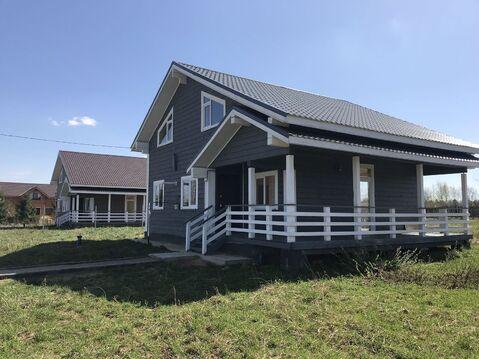 Новый двухэтажный дом в коттеджном посёлке 35 км от Сергиев-Посада