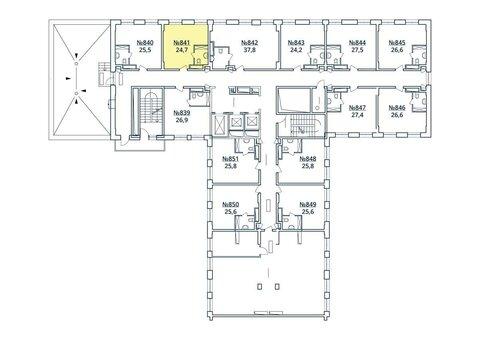Москва, 1-но комнатная квартира, ул. Радиальная 6-я д.7, к 35, 2763707 руб.