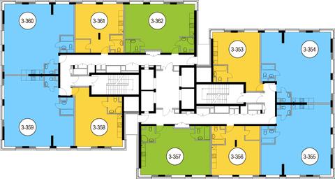 Москва, 2-х комнатная квартира, Головинское ш. д.10, 12669000 руб.