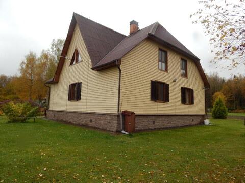 Цена снижена!Дом 246 кв м на участке 24 сотки близ д. Петрищево