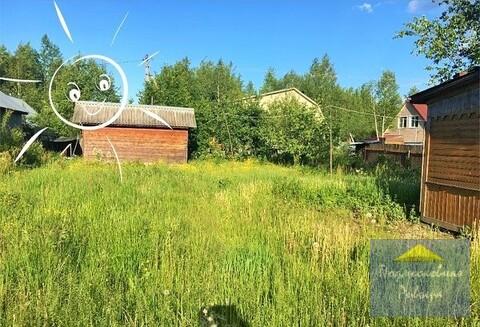 Участок 6 сот. с домиком, эл-во, вода, банька, д. Федоровское, 850000 руб.