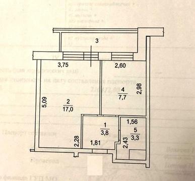 """1-комнатная квартира, 36 кв.м., в ЖК """"на ул. Вернова"""" д. 2, 3, 5"""