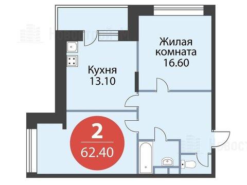 Павловская Слобода, 2-х комнатная квартира, ул. Красная д.д. 9, корп. 56, 5678400 руб.