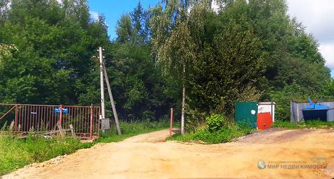 Дачный участок у леса в районе д. Строково Волоколамского района МО
