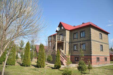 4-хуровневый кирпичный дом 500кв Истринский р-н д Алехново, уч 25 сот