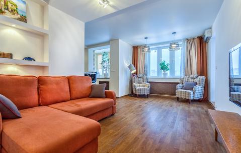 Продается 2-комн. квартира, 74 кв.м, с евроремонтом, м. Царицыно
