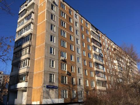 М.Щелковская ул.Хабаровская д 3. На 9/9 п.д Продается 2 кв общ.58 кв