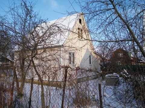 Двухэтажный дом 6х9 в СНТ Коледино, Климовск, Подольск