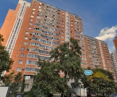 Продаётся 1-комнатная квартира по адресу Борисовские Пруды 17к1