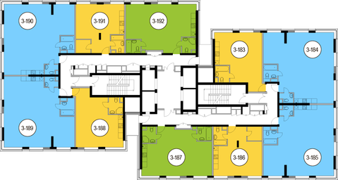 Москва, 2-х комнатная квартира, Головинское ш. д.10, 11026400 руб.