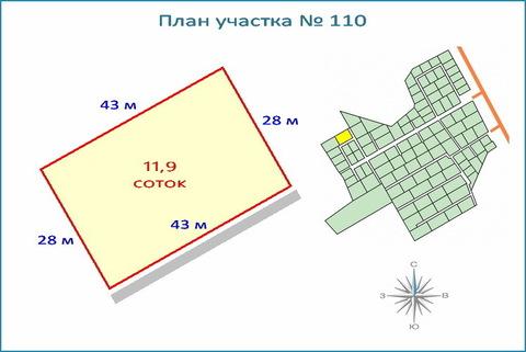Участок 11,9 соток в кп, ипотека, рассрочка, 10 км от ЗЕЛАО г. Москвы