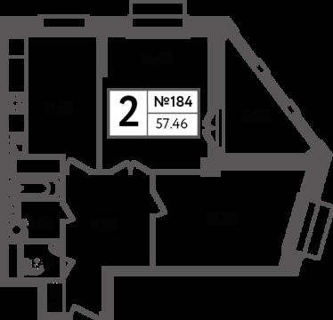 Москва, 2-х комнатная квартира, Яна Райниса б-р. д.вл.4, корп.3, 11061050 руб.