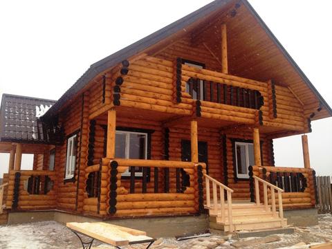 Новый дом в деревне с газом. Ярославское шоссе 83 км