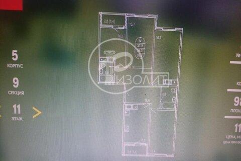 """4-комнатная квартира, 99 кв.м., в ЖК """"ЛУЧИ"""""""