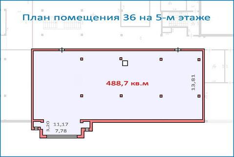 Помещение свободного назначения 488,7 кв.м в новом ТЦ, 6 км от МКАД, 34209000 руб.
