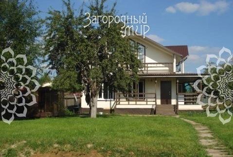 Новый экологичный дом в тихом селе недалеко от Москвы.
