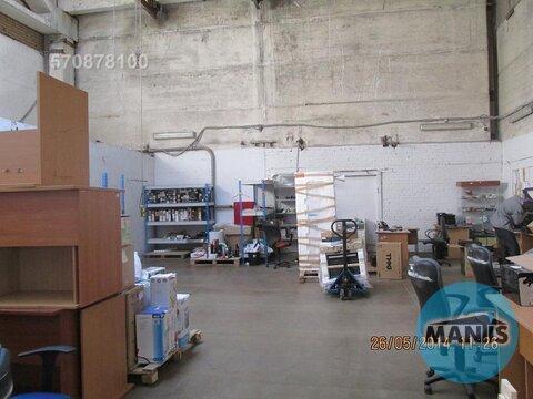 Теплое, сухое производственно - складское помещение, состоящее из двух