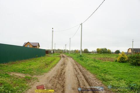 Участок 8 соток в деревне Кашино Волоколамского района. ПМЖ. Вода. Лес