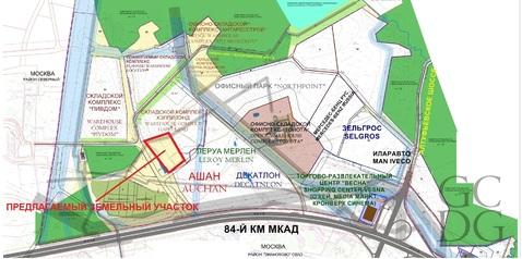 Продается участок 2,1га в 300м от МКАД на Алтуфьевском шоссе