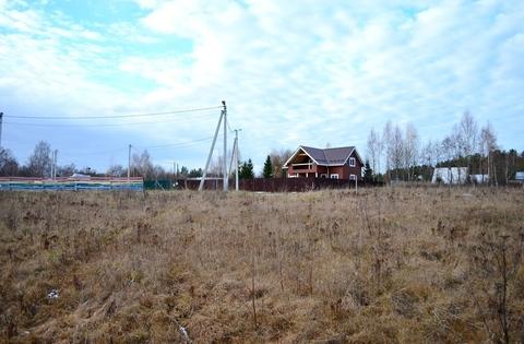 Продаю участок ИЖС, 12.5 соток в дерени Новая в 45 км от Москвы