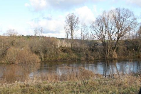 Участок с панорамными видами рядом с рекой на Ильинке, с.Дмитровское