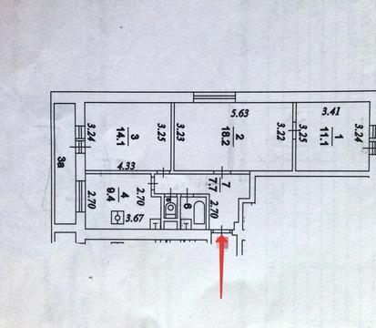3-комн. квартира, ЗЕЛАО, р-н Савёлки, Зеленоград, мкр. 6-й, к618