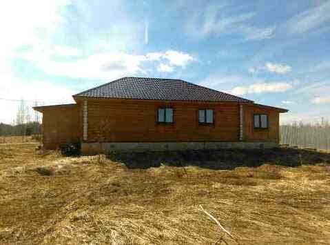 Бревенчатый дом 120кв.м, на 8 сотках земли в СНТ вбл. д.Щелканово