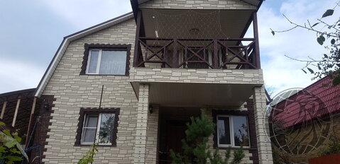 Дом для пост.проживания в газифицированном СНТ Подольск, Силикатная