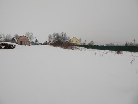 Участок 24 сотки в д.Назарьево с газом по границе