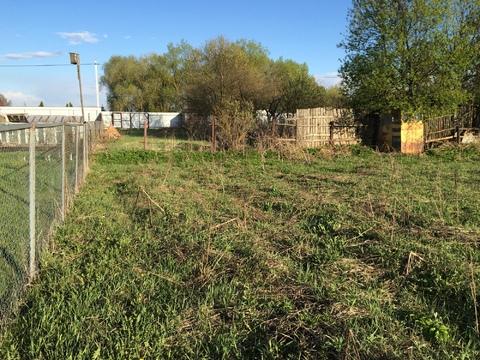 Продается земельный участок в деревне Таширово.