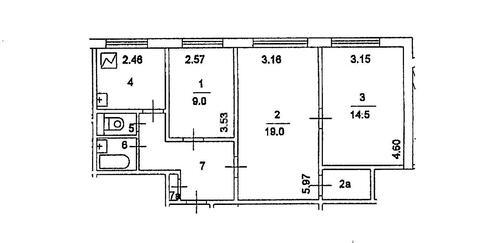 Продажа 3 комнатной квартиры м.Тропарёво (Академика Варги ул)