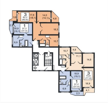 Продаётся 3х комнатная квартира в г. Москва Ул. Лётчика Грицевца
