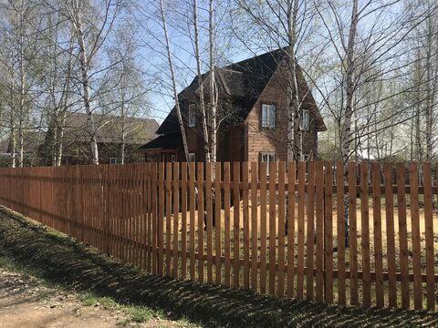Новый уютный дом 80 км от МКАД по Ярославскому/Щёлковскому шоссе