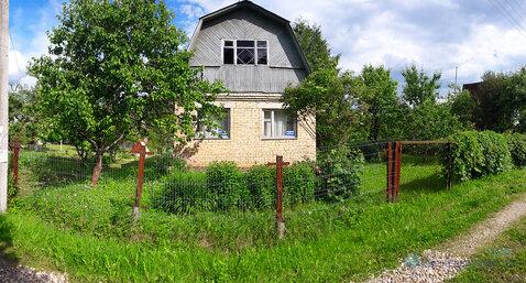 Кирпичная дача на участке 6 сот. в СНТ Ивушка с. Рюховское Волоколамск