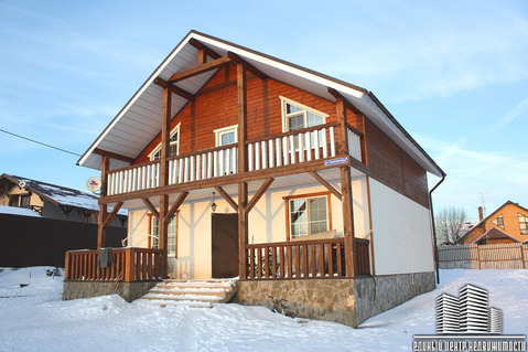 Дом 130 кв.м. г. Яхрома, ул. Спортивная (Дмитровский район)