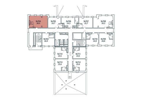 Москва, 1-но комнатная квартира, ул. Радиальная 6-я д.7, к 35, 4344198 руб.