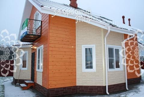 Каркасно-щитовой дом по канадской технологии.