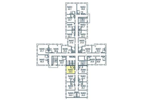Москва, 1-но комнатная квартира, ул. Радиальная 6-я д.7, к 35, 2830632 руб.