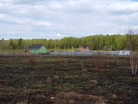 Участок 9 соток 5 км от д. Калиновские Выселки Серпуховского района