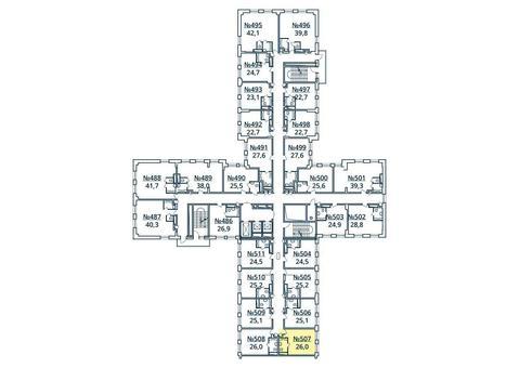 Москва, 1-но комнатная квартира, ул. Радиальная 6-я д.7, к 35, 2844841 руб.