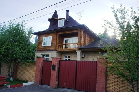 Экологичный дом в тихом районе Новой Москвы